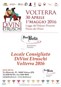 2016 DiVini Etruschi LocandiDon Beta