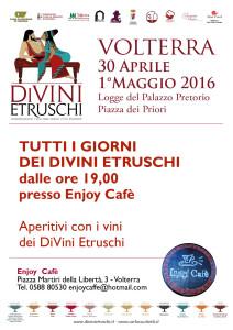 2016 DiVini Etruschi Locandina Enjoy Café